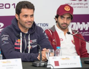 Nasser Saleh Al-Attiyah and Khaled Al-Suwaidi - Copy