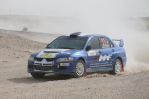 Qatar's Khaled Al-Mohannadi and Indian navigator Musa Sherif are second in the National Rally_ - Copy