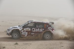 Second overall for Khaled Al-Suwaidi and Marshall Clarke after day one in Qatar_ - Copy