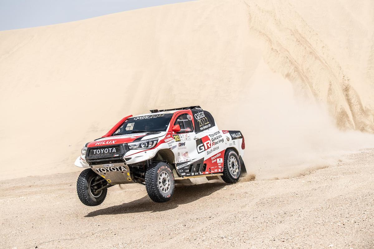 84308b1a245 AL-ATTIYAH EXTENDS HIS LEAD WITH FASTEST TIME ON SECOND MANATEQ QATAR  CROSS-COUNTRY RALLY STAGE